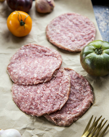 Ground Pork Burger Patties (1 lb.)