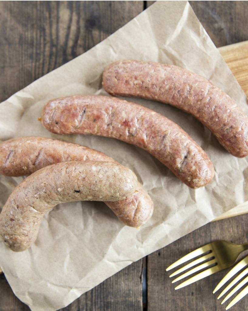 Hot Italian Sausage Links/Brats (4 Pack)