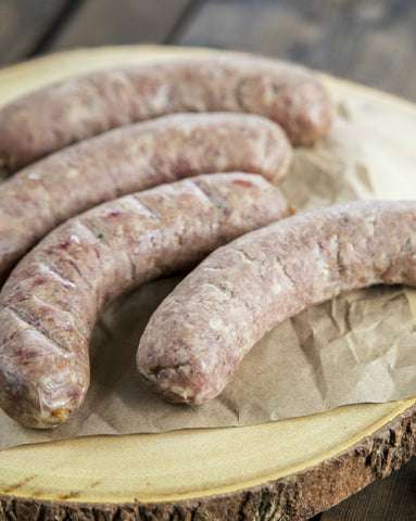 Pasture-Raised Pork Jamaican Bratwurst