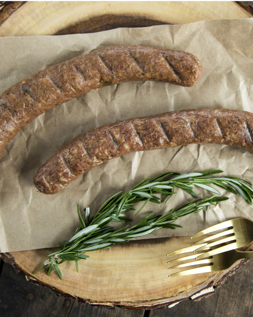 Andouille Sausage with Pasture-Raised Pork (2 pack)