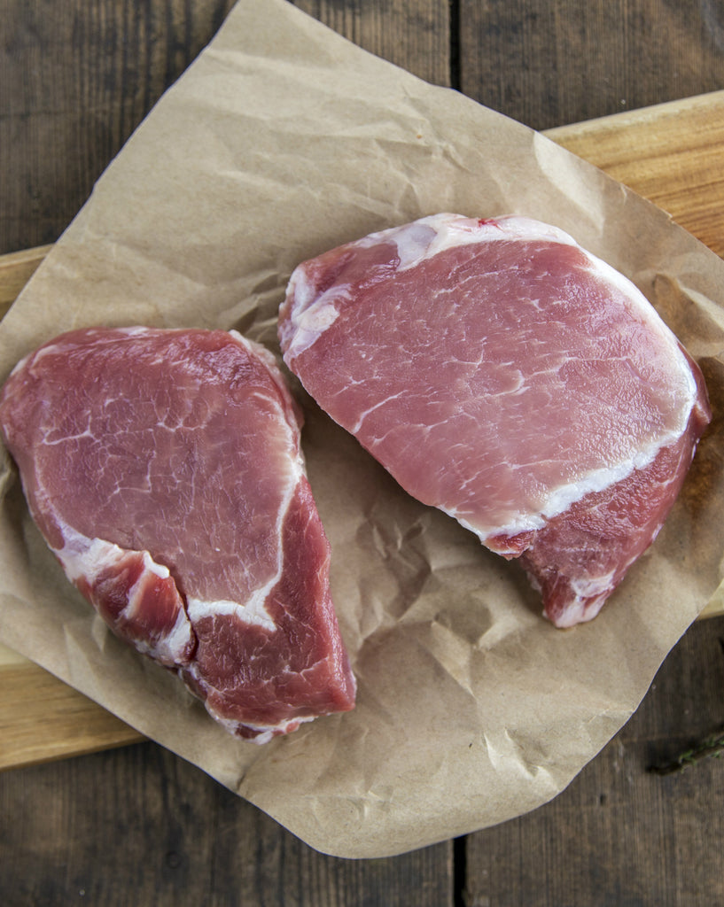 Boneless Pork Chops (Pasture-Raised, ~1 lb.)🐷