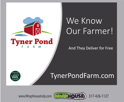 Know your farmer yard sign  (FREE!)