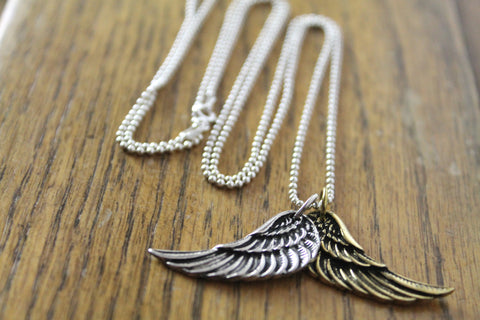 Angel Wings Necklace- Large