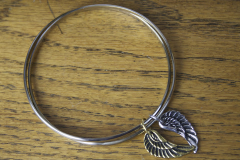 Mixed Wing Bangle