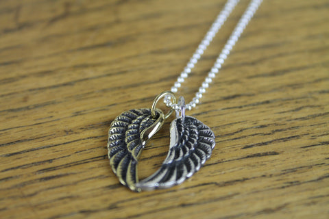 Angel Wing Necklace - Small