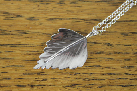 Silver Birch Necklace
