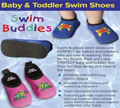Swim Buddies - Baby & Toddler Swim Shoes