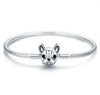 French Bulldog Sterling Silver Charm Bracelet