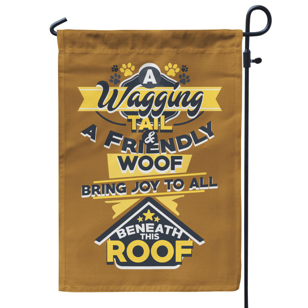 A Wagging Tail, A Friendly Woof Flag