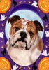 Bulldog Tamara Burnett Halloween Howl Flag