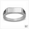 Personalized Engraved Sterling Silver Paws UP Ring, Engrave, Sz 6-8