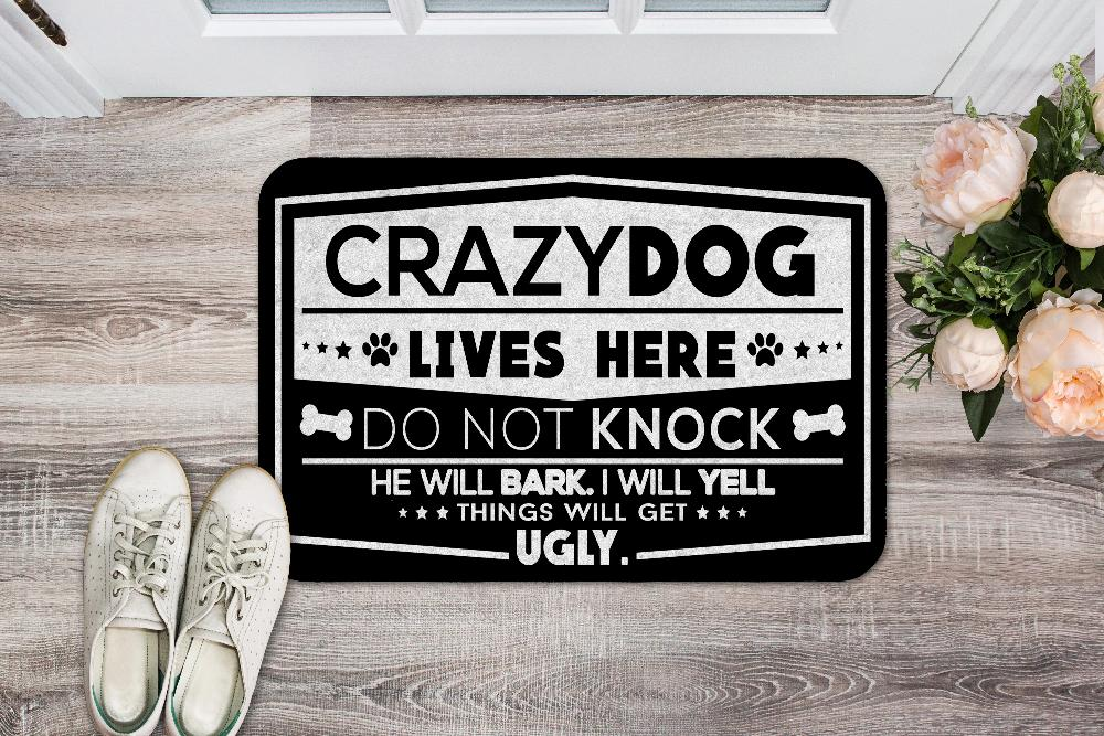 Crazy Dogs - Things Will Get Ugly - Door Mat