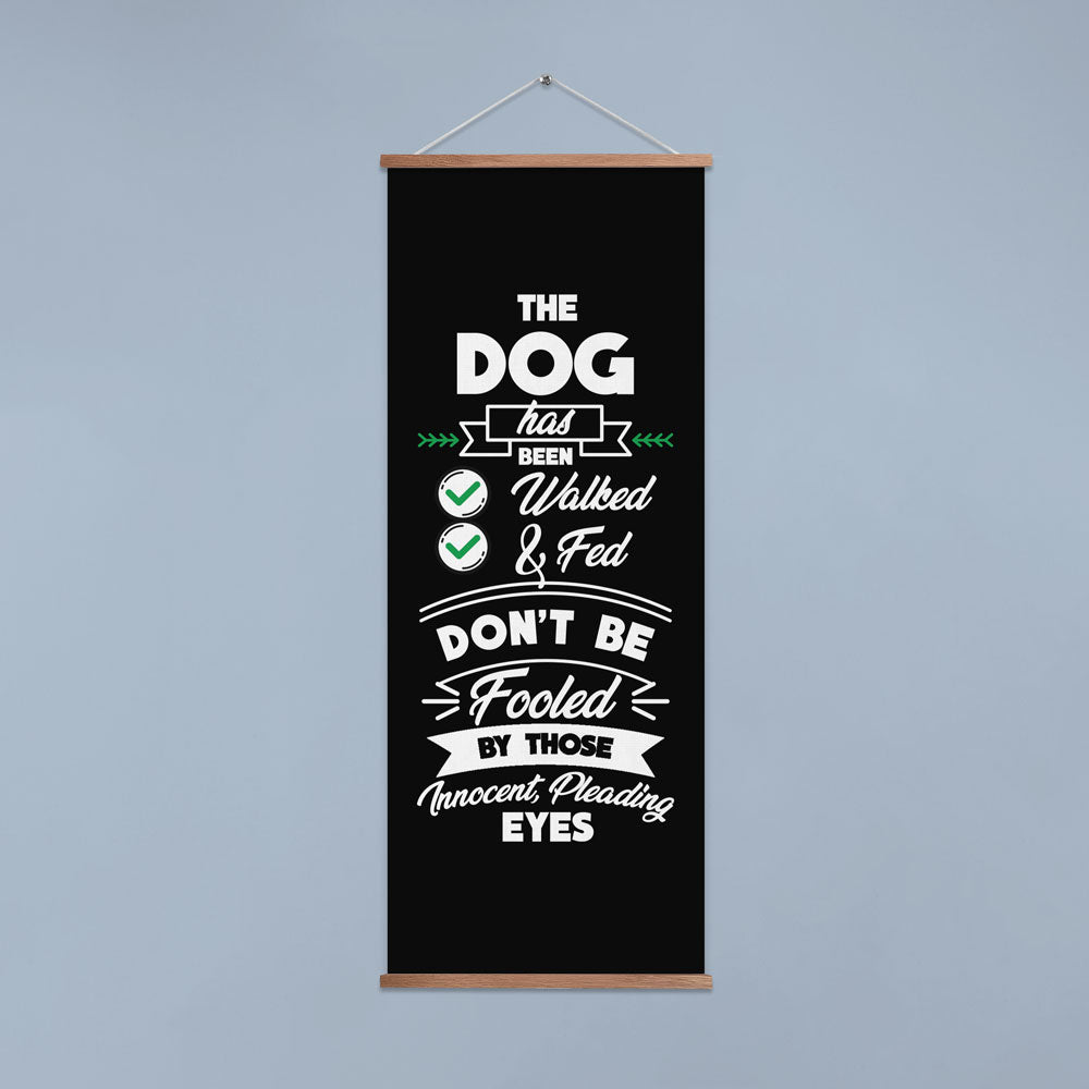 Dogs Have Been Fed Door Banner