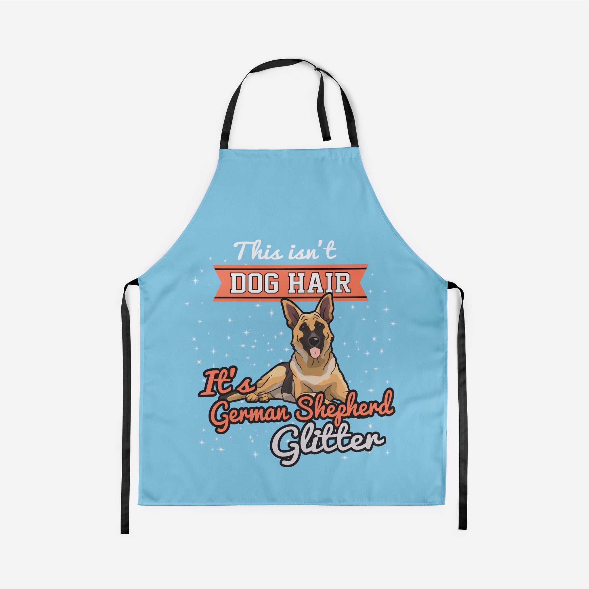 This Isn't Dog Hair It's German Shepherd Glitter Apron