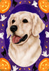 Golden Retriever Tamara Burnett Halloween Howl  Flag