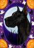 Great Dane Tamara Burnett Halloween Howl Flag