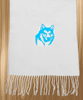 Custom Designed Husky Dog Cashmere Feel Scarf
