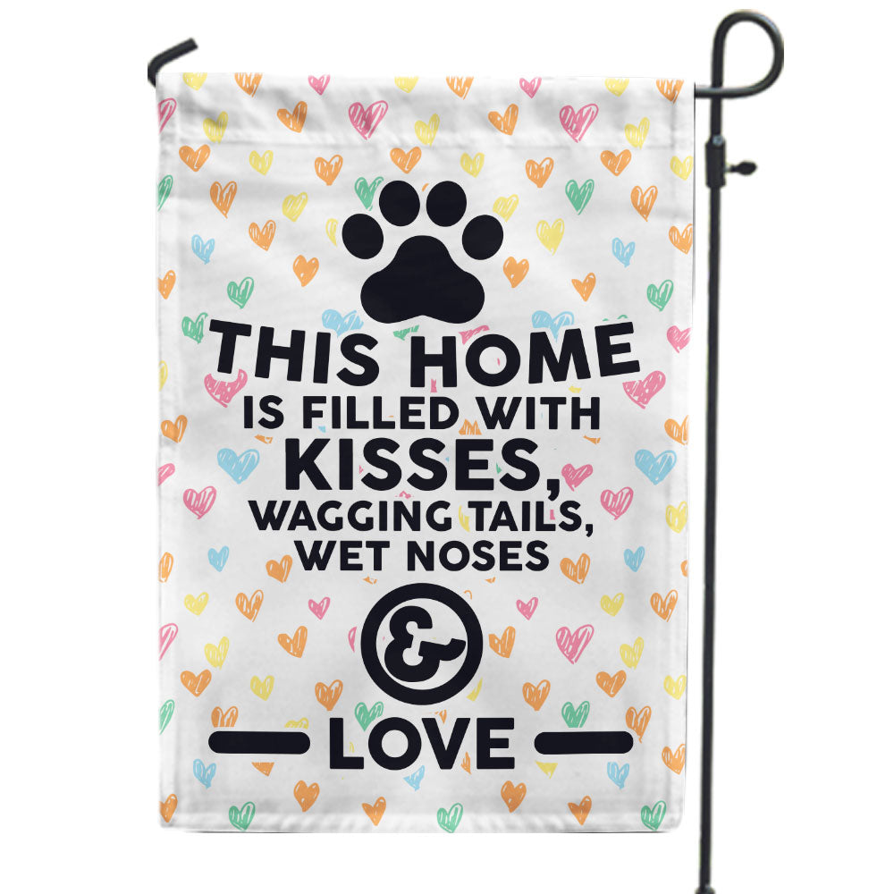 This Home is Filled With Kisses Flag