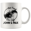 Personalized Best Friend For Life 11oz Mug