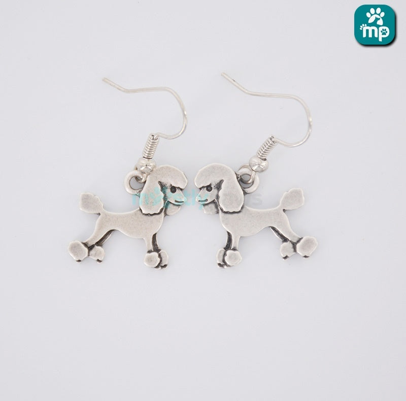 Cute Poodle Dog Earrings - D