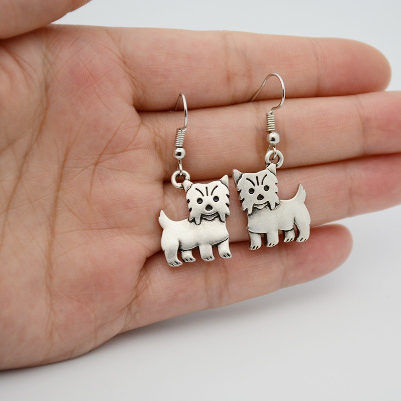 Cute Yorkshire Terrier Earrings - D