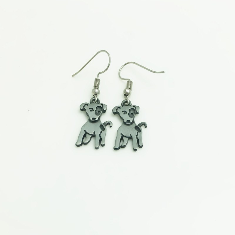 Jack Russell Terrier Earrings - D