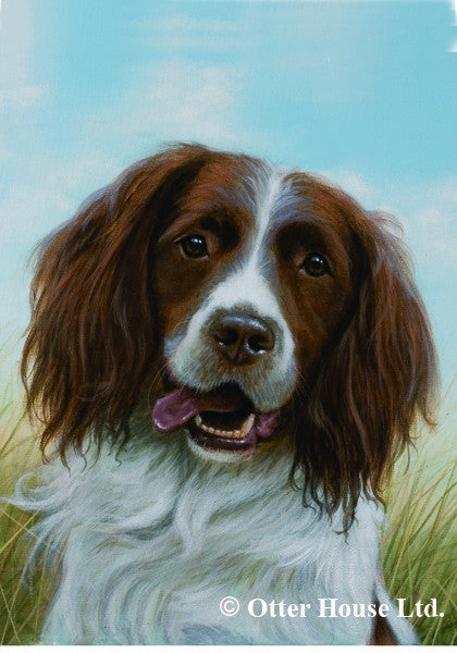 English Springer Spaniel John Silver Flag