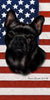 American Flag French Bulldog Beach Towel - 30