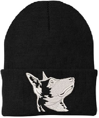 Hand Made Malinois Knit Hat