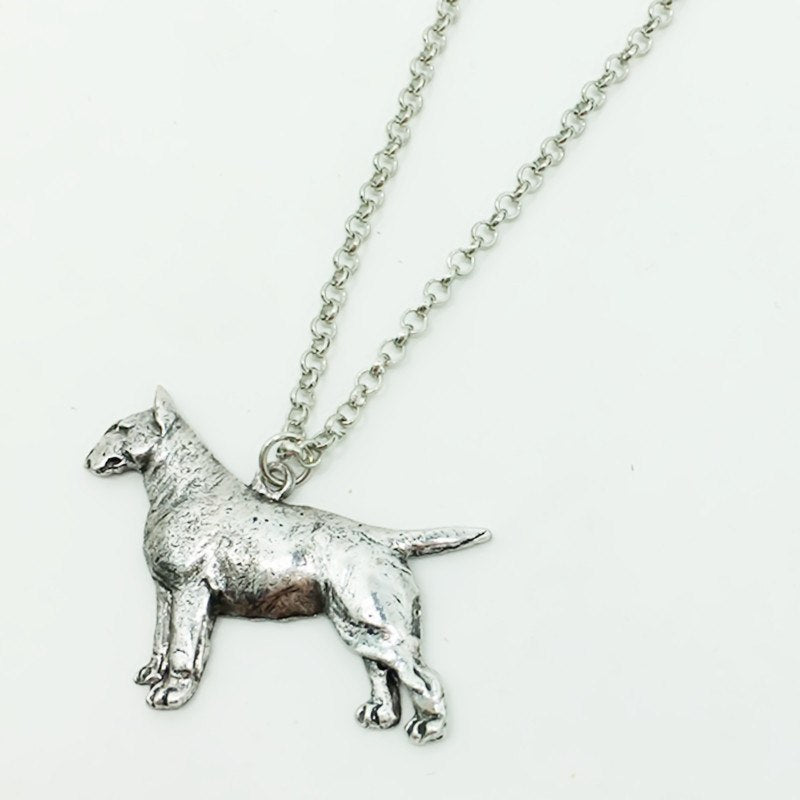 Bull Terrier Necklace - D