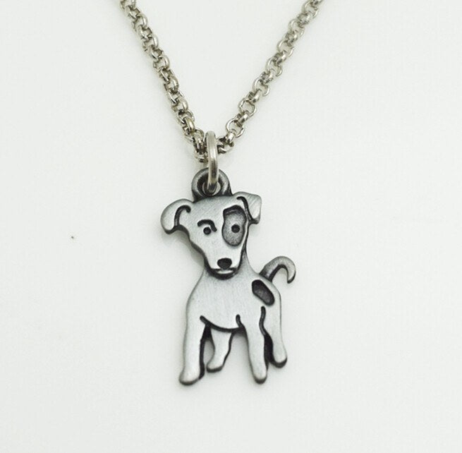 Jack Russell Terrier Pendant Necklace - D