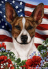 Rat Terrier Tamara Burnett Patriotic Flag