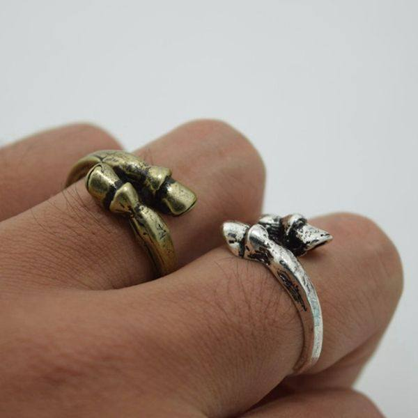 Adjustable Horse Hoof Wrap Ring - D