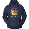 Corgi Smiles Melt My Heart T-Shirt