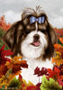 Shih Tzu Tamara Burnett Fall Flag