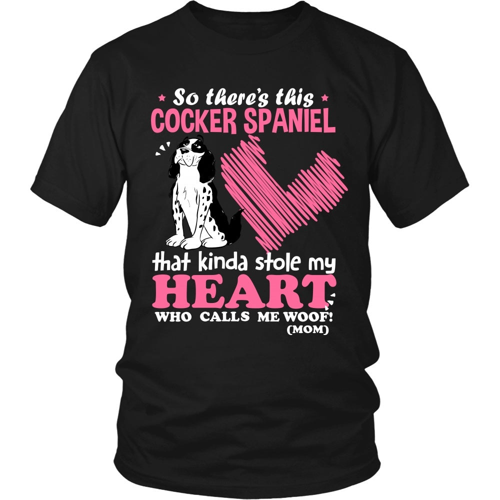 This Cocker Spaniel Kinda Stole My Heart T-Shirt