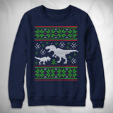 MF10043 Ugly T-Rex Sweater