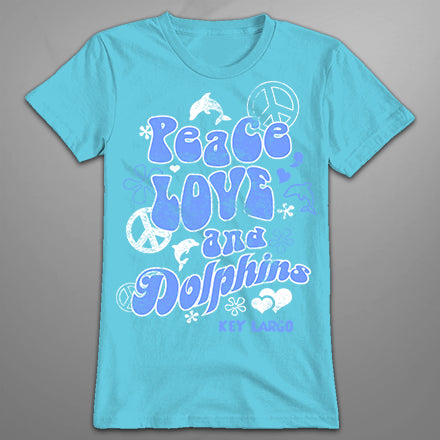 MF2334 Peace Love Dolphins