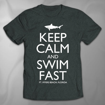 MF5402 Keep Calm Shark