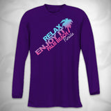 MF6977-8 Gradient Slant Relax and Enjoy Performance LS Tee Palm Beach