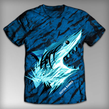 MF7644-OBX Geometric Shark