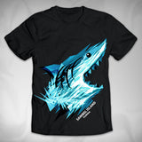 MF7644 Geometric Shark Tee Sanibel Island