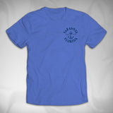 MF8020 Stamped Panel Tee Sarasota Nautical Anchor