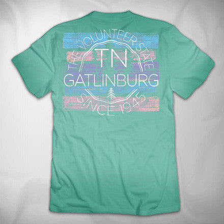 MF8114 Level Up Pigment Dye Tee Gatlinburg