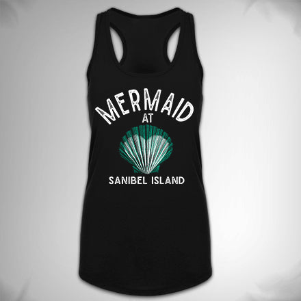 MF8119-SAN Mermaid at Heart Shell