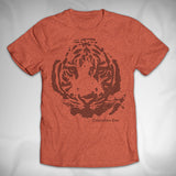 MF8165 Rough Silhouette Vintage Tee Columbus Zoo Tigers