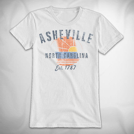 MF8227 Outdoor Life The Perfect Tee Asheville