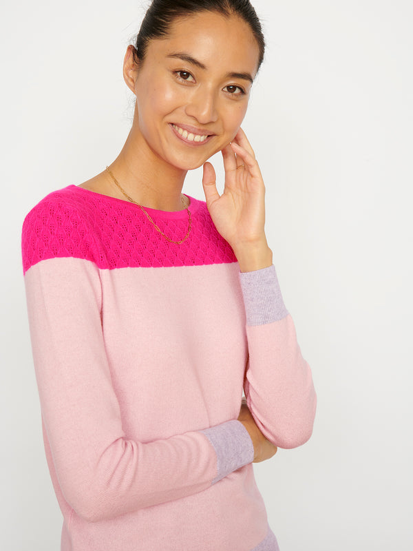 Willow Pink Jumper