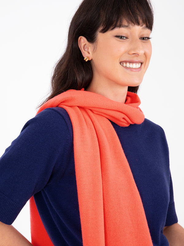 Small Essential Siren Cashmere Scarf