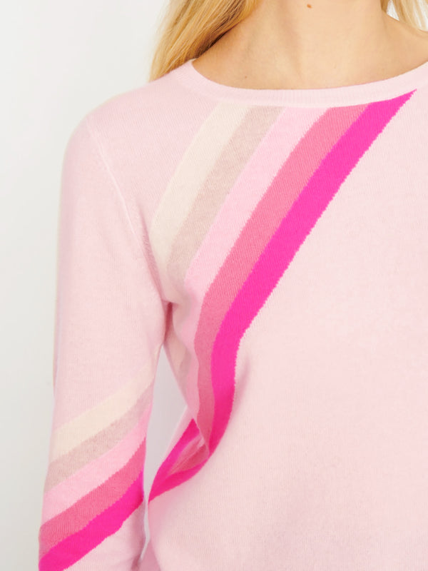 Rainbow Pink Jumper